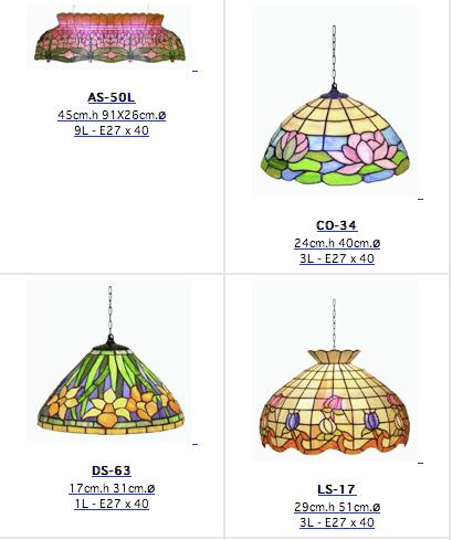Lámparas Tiffany de hoy 4