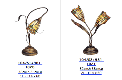 Lámparas Tiffany de hoy 6