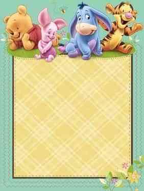 Decora tu Baby Shower con Winnie the Pooh 1