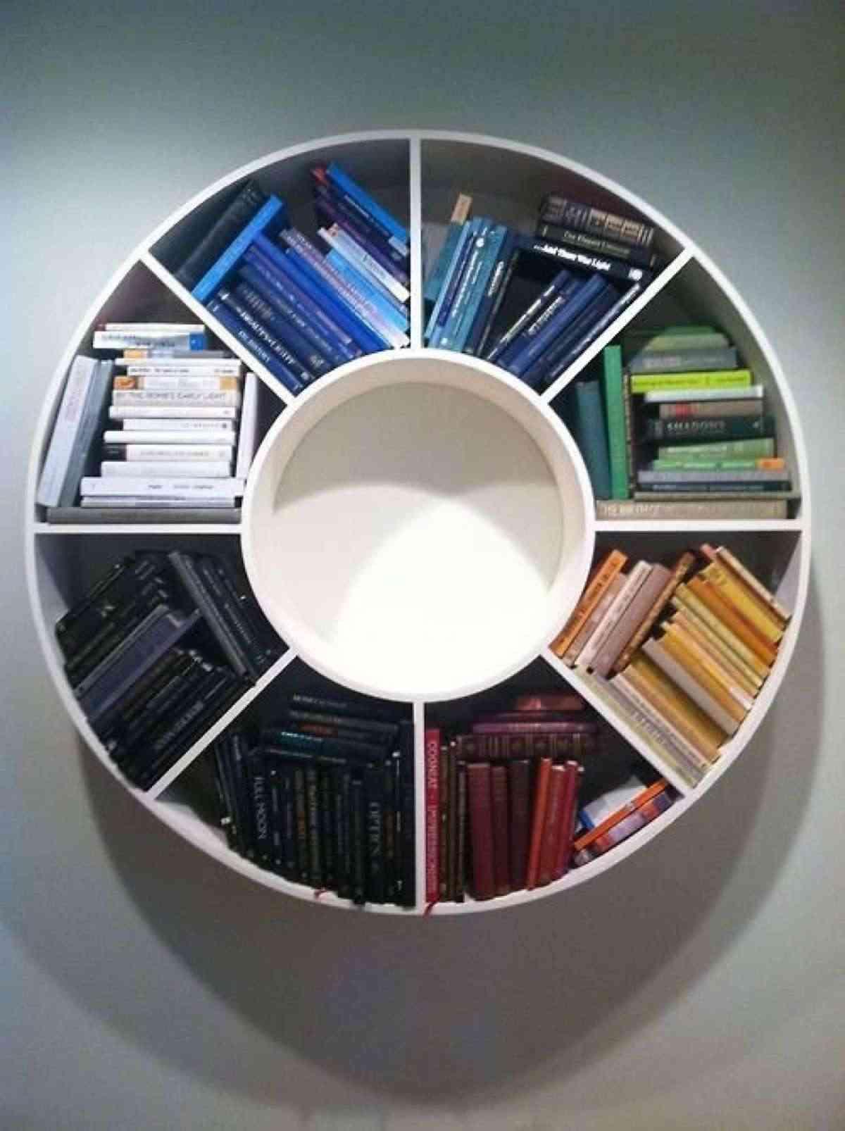 estanterías circulares