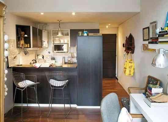 Apartamentos de soltero decoraci n de interiores opendeco for Decorar piso de 60 metros cuadrados