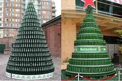 te encanta decorar el rbol de navidad hay muchas formas para hacerlo no siempre ha de ser la clsica que todo el mundo hace quieres algunas ideas - Arboles De Navidad Originales