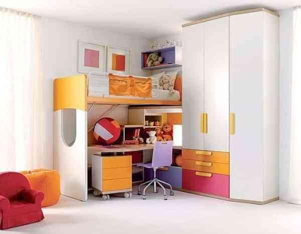 Organizando la habitación de la niña 1