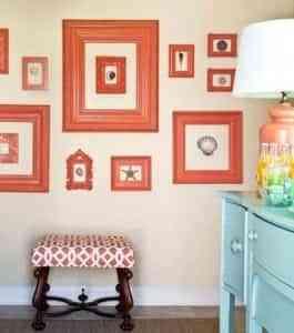 Ideas fáciles para decorar la pared 1