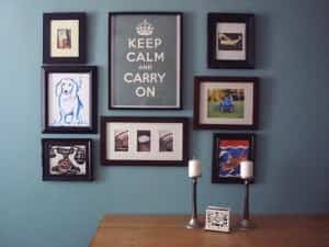 Ideas fáciles para decorar la pared 2