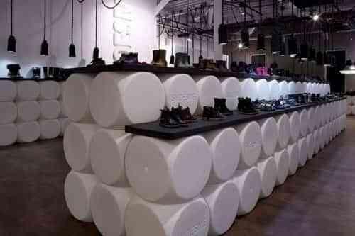 Teun Fleskens diseña el interior de las zapaterias Shoesme 1