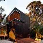 Mansión de madera con grandes ventanales de Herbst Architects 6