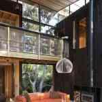 Mansión de madera con grandes ventanales de Herbst Architects 7