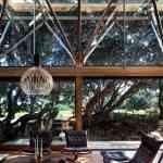 Mansión de madera con grandes ventanales de Herbst Architects 8