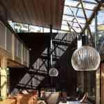 Mansión de madera con grandes ventanales de Herbst Architects 9