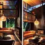 Mansión de madera con grandes ventanales de Herbst Architects 10