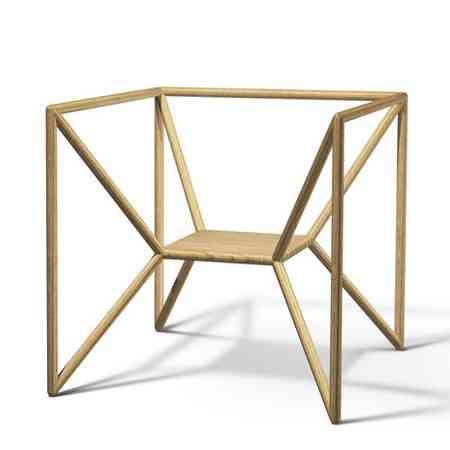 M3 la silla minimalistas llevada casi al extremo for Sillas de oficina minimalistas