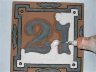 Cer mica a la cuerda seca blog totpint portal de decoracion y pinturas - Esmaltes para azulejos ...