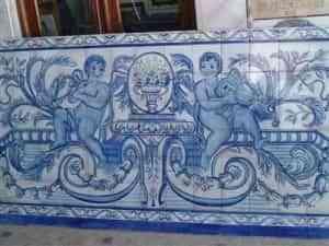 Azulejo pintado a mano con técnica pizano 5