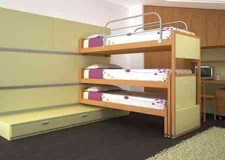 Tres camas, tres durmientes - Decoración de Interiores   Opendeco