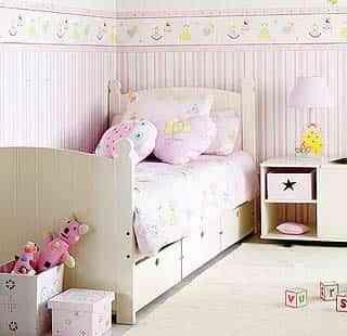Cenefas para habitaciones infantiles decoraci n de - Cenefas para espejos ...