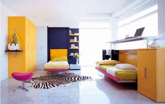 Soluciones a los dormitorios juveniles 1 - Decoración de Interiores ...