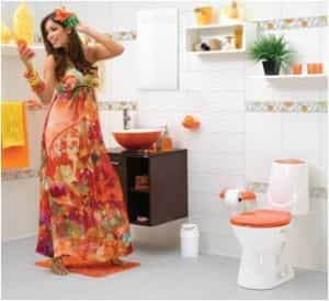 Tres diferentes forma de decorar con azulejos un cuarto de baño 3