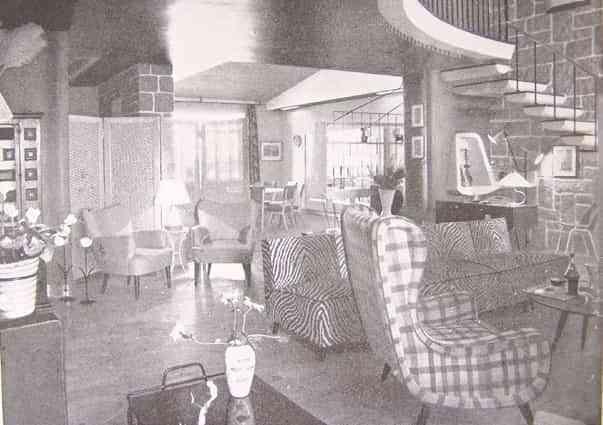 Una casa de diseño de 1954 2