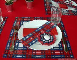 Decorado con telas escocesas 8