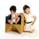 S-cube la silla multifunción de cartón de Miso Soup Design 6
