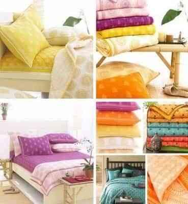 La ropa de cama, tipos de telas 1