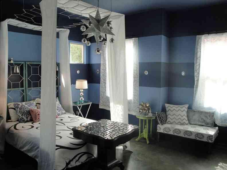 Una pr ctica idea para un dosel decoraci n de interiores for Cama original