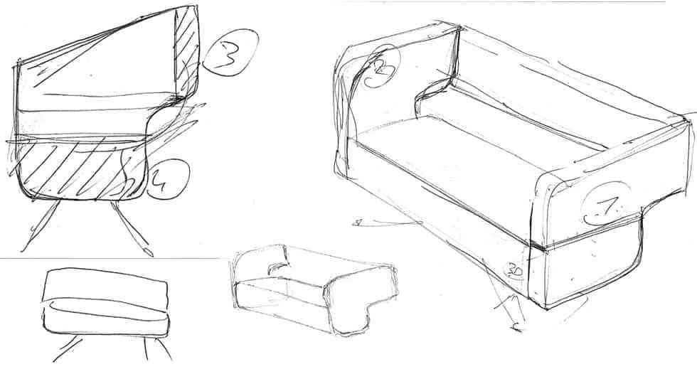 Sofá de diseño turco - Decoración de Interiores | Opendeco