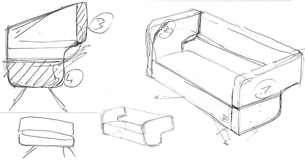 Sof de dise o turco decoraci n de interiores opendeco for Diseno industrial de muebles