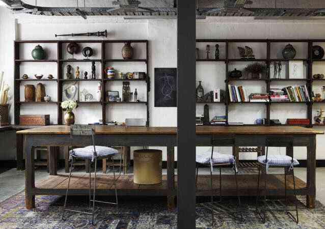 Decoraci n industrial doordresser for Studio design muebles