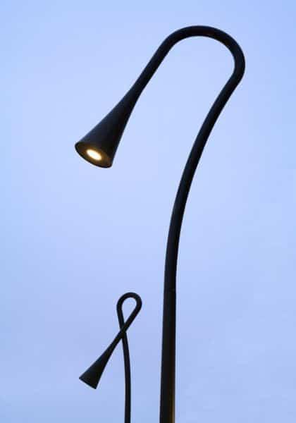 Farolas como lámparas de lectura 1