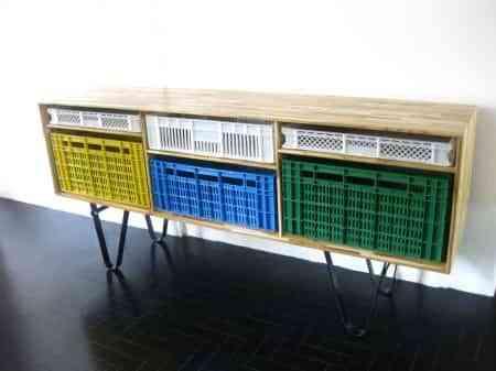 Diseño con cajas de frutas brasileño 2