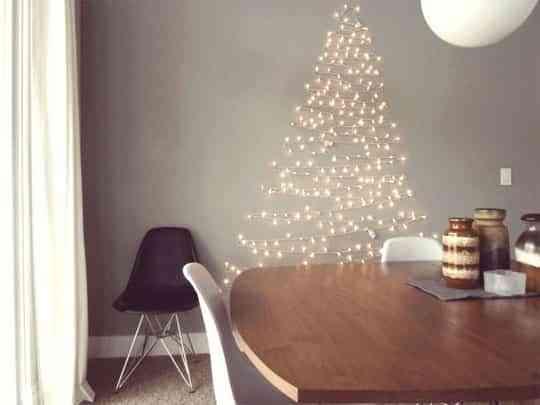 Árbol de Navidad con LED - Decoración de Interiores | Opendeco