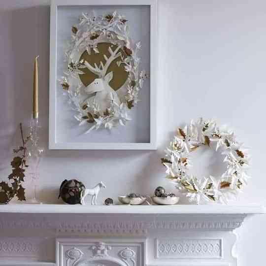 Más ideas para decorar tus chimeneas en Navidad 1