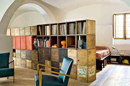 Ideas para decorar con cajas de madera 2