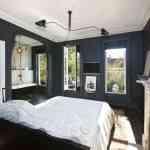 Blanco y tonos oscuros: habitaciones con estilo 3