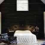 Blanco y tonos oscuros: habitaciones con estilo 4