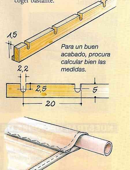Hacer con tela un falso techo decoraci n de interiores for Como encielar un techo