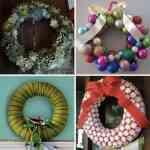 Ideas para hacer coronas de Navidad 2