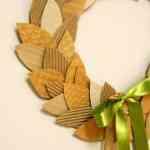 Ideas para hacer coronas de Navidad 5
