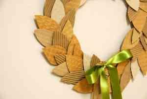 coronas hojas