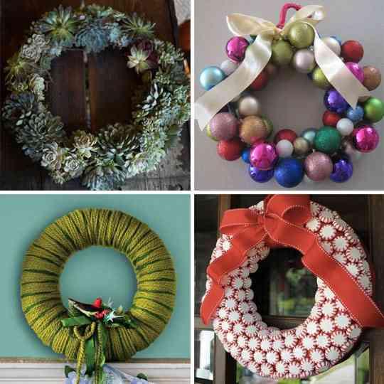 Ideas para hacer coronas de Navidad - Decoración de Interiores ...