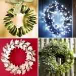 Ideas para hacer coronas de Navidad 8