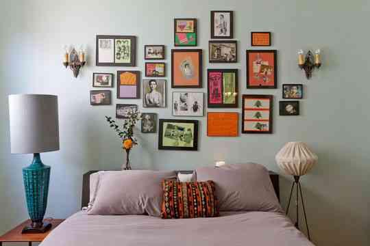 Cabecero de cuadros decoraci n de interiores opendeco - Cuadros de interiores ...