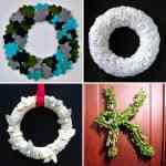 Ideas para hacer coronas de Navidad 6