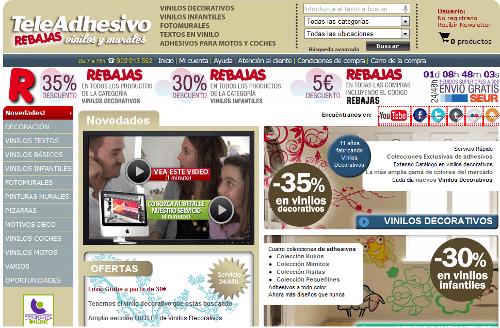 Llegan las rebajas en vinilos y murales a TeleAdhesivo.com 1