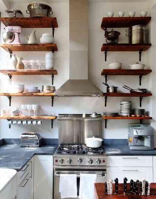 Aprovechar Espacio En Una Cocina Pequeña Decoración De Interiores Opendeco