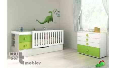 Ideas para decorar la habitación del bebé con cunas convertibles 2