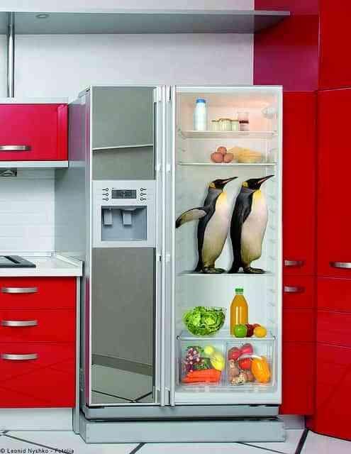 Ideas sorprendentes para decorar la cocina con vinilos decoraci n de interiores opendeco - Vinilos puertas cocina ...