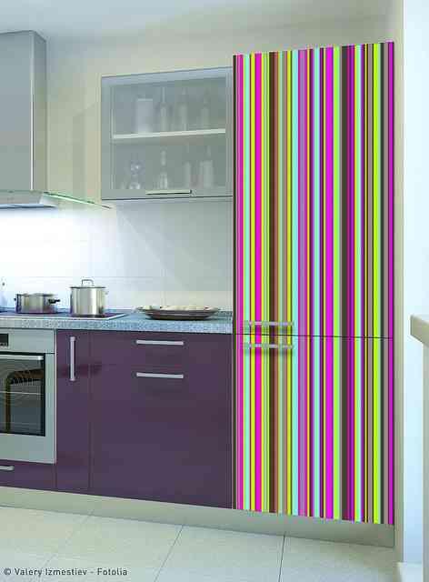 Ideas sorprendentes para decorar la cocina con vinilos - Paneles decorativos para cocinas ...